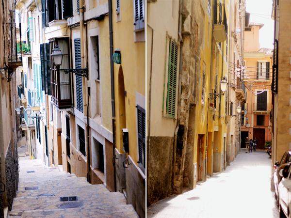 Palma Mallorca alleys The Travelettes Guide to Palma, Majorca