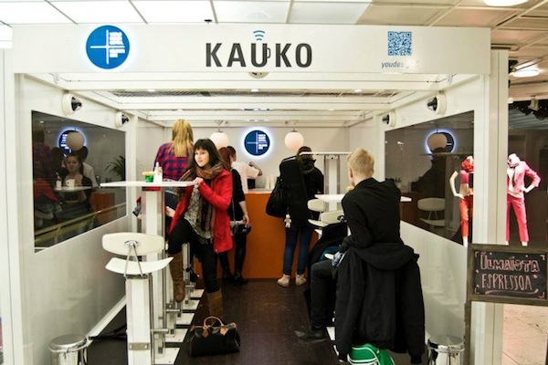 Kauko, the Internet café with a difference
