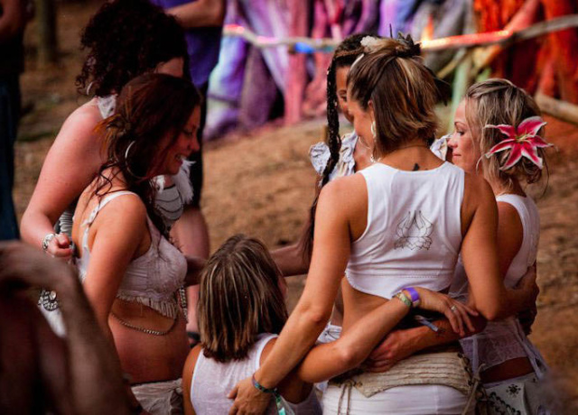 Getting ready for Envision Festival 2012
