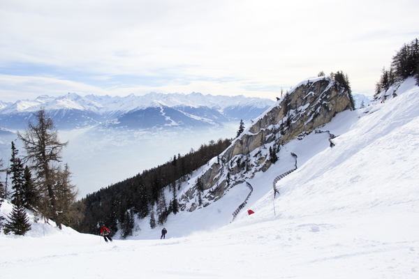 trav anzere black pist Above the clouds   Mountain Panoramas of Switzerland