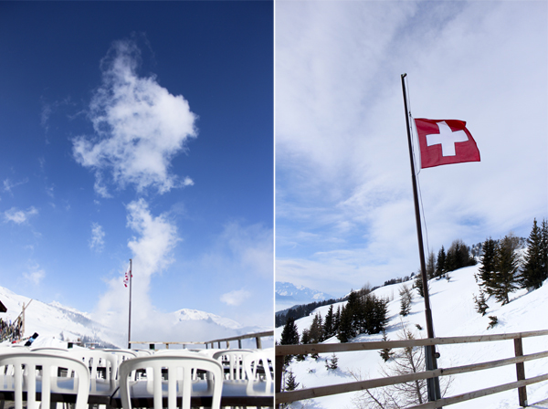 trav flags anzere Above the clouds   Mountain Panoramas of Switzerland