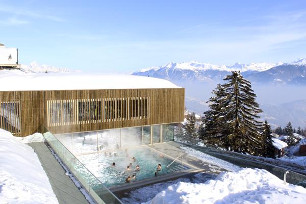 trav spa centre anzere Winter Holidays in Anzère, Switzerland