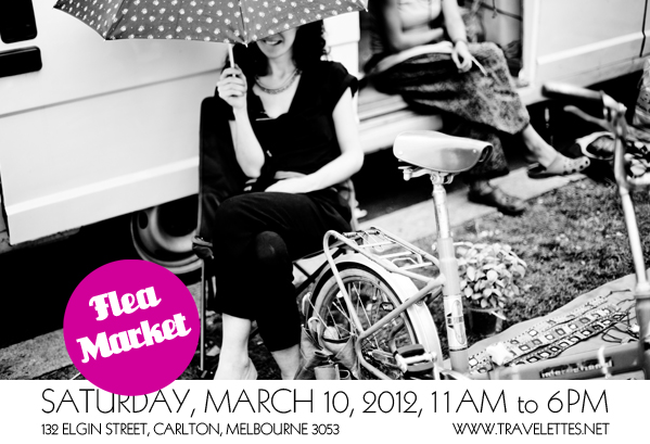 Melbourne's First Travelettes Flea Market