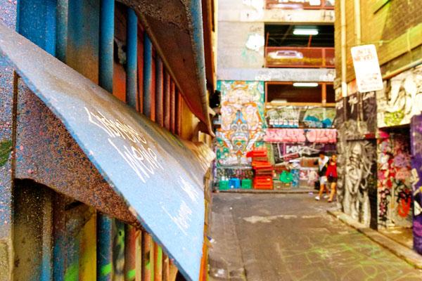 Melbourne Street Art Corner Travelettes Woz Ere: Street Art in Melbourne