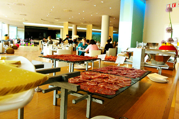 W Hotel Barcelona Breakfast W is for Wonderful: Staying at W Barcelona