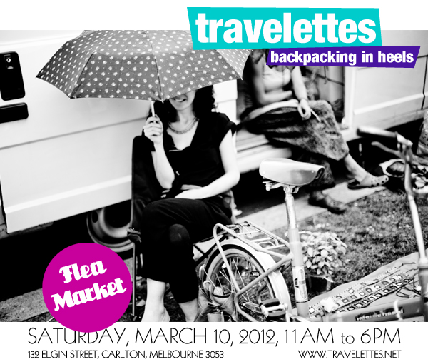 cafe Melbourne's First Travelettes Flea Market