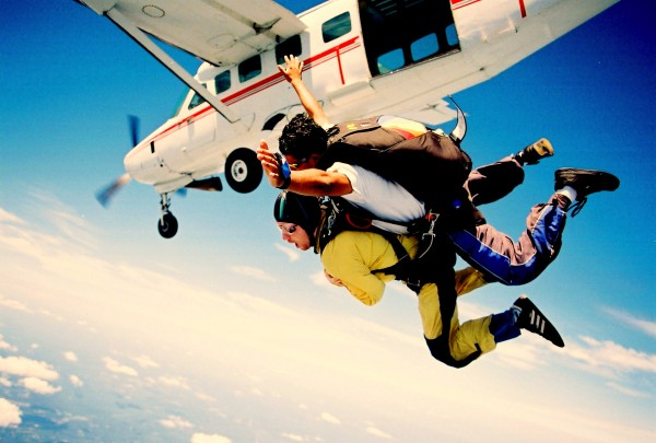 skydiving 2 600x405 Falling from the Sky in Taupo, New Zealand