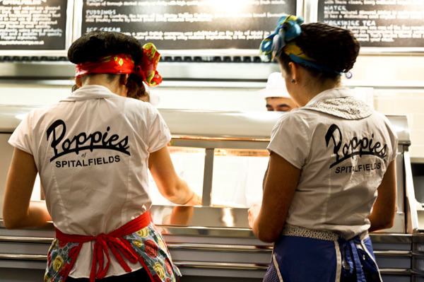 Poppies: The Place to Eat Fish and Chips in London