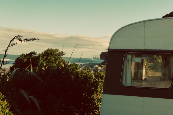 Caravan New Zealand Two girls, two islands, one campervan: Camping it up in New Zealand