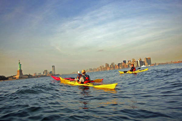 Kayaking on the Hudson 10 Things to do in New York City for Free