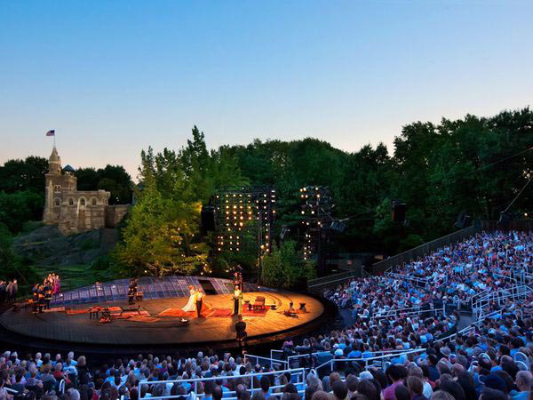 ShakespeareinthePark 10 Things to do in New York City for Free