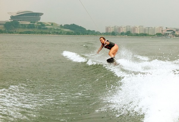 Travelettes Bird Wakeboarding 2 600x410 Wakeboarding in Malaysia