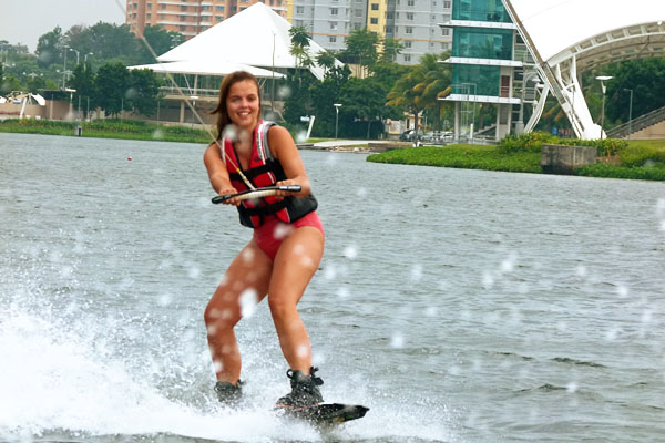 Travelettes Bird Wakeboarding Wakeboarding in Malaysia