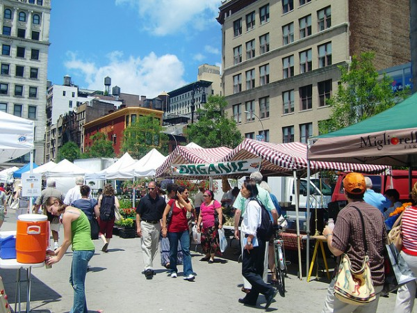 new york city green market union square 600x450 10 Things to do in New York City for Free