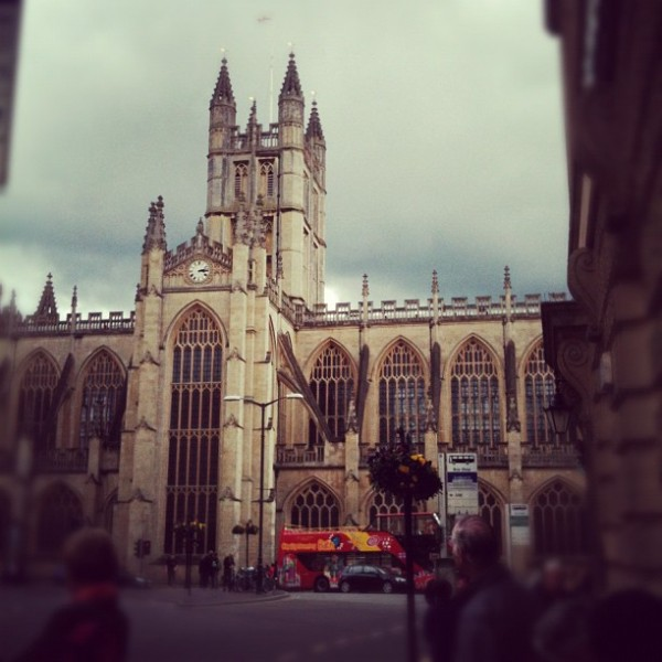 Bath Abbey 600x600 Sophie's Five Countries through Instagram