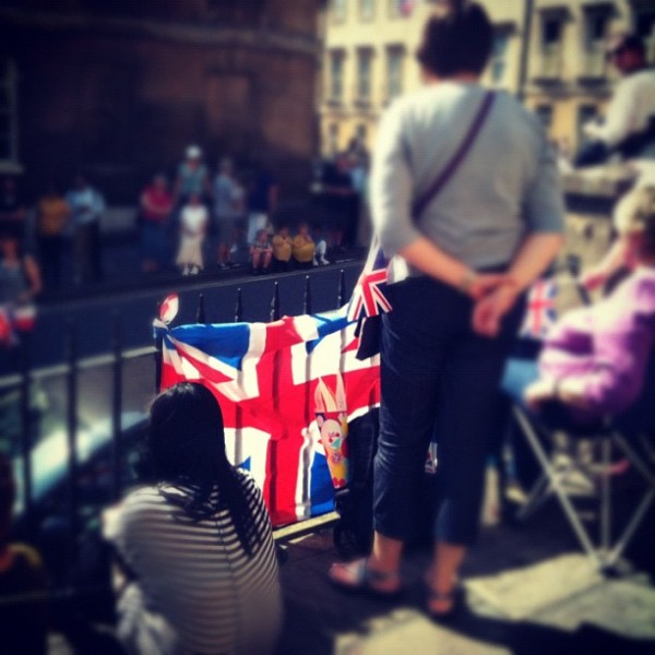 Bath Flag 600x600 Sophie's Five Countries through Instagram