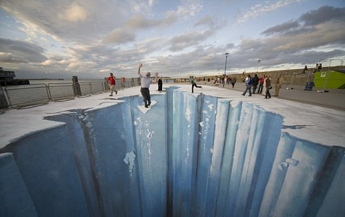 Chalk Art Pavement Side chalk art around the world