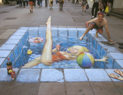 Side-chalk art around the world