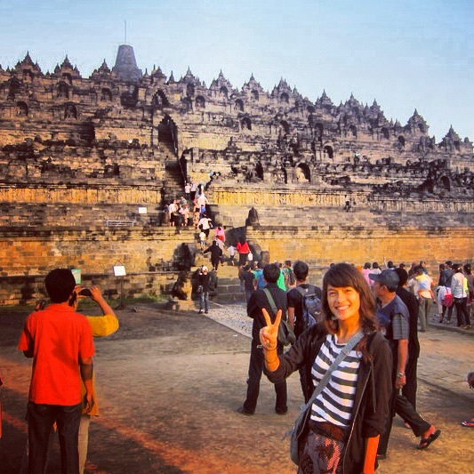 bali borobudor Sophie's Five Countries through Instagram