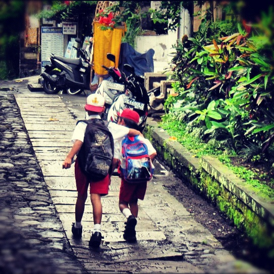 bali kids Sophie's Five Countries through Instagram