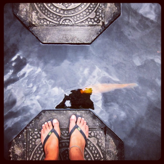 feet ubud Sophie's Five Countries through Instagram