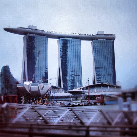 spore towers Sophie's Five Countries through Instagram