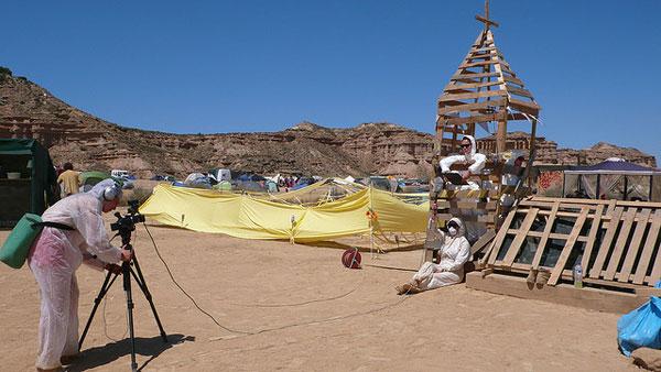 Nowhere film crew Nowhere festival in Spain  Burning Man for Europeans
