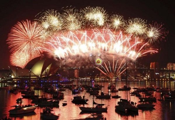 Sydney Fireworks 600x410 10 Things to do in Sydney for Free