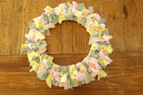 Completed DIY Summer Wreath DIY Sunday: Summer Wreath