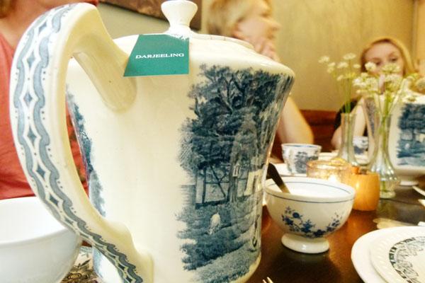 Tea pot Gartine Gartine   A Very British High Tea in Amsterdam