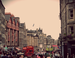 Edinburgh during Fringe