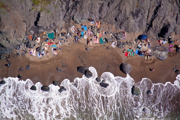 San Francisco 600x398 Beach Life   Aerial Photography by Gray Malin