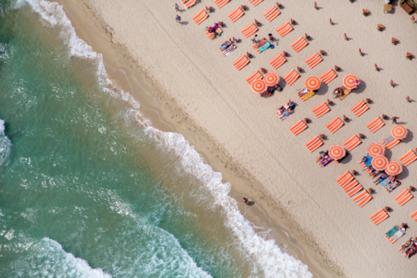 St Tropez France 600x400 Beach Life   Aerial Photography by Gray Malin