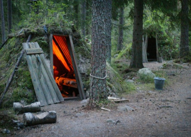 Kolarbyn Eco Lodge - Sweden's most primitive hotel