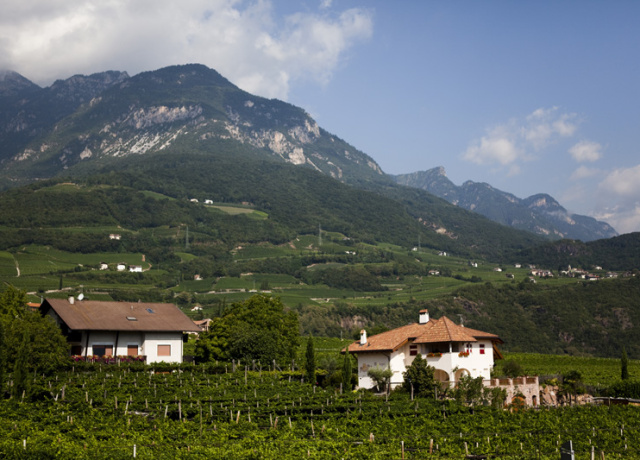 A bed and breakfast from the past in the Italian Alps