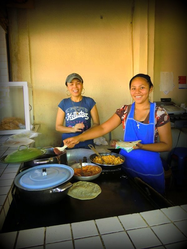 baleada shop Seaside perfection in Tela, Honduras