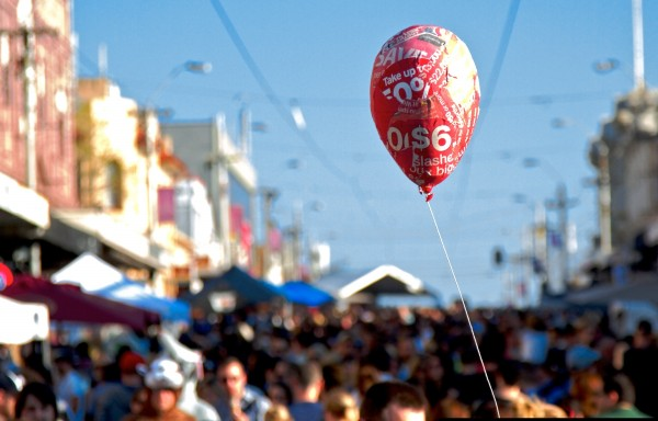 baloon party 600x384 Top 12 Free Things to do in Melbourne