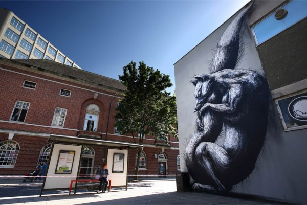 roa see no evil 600x401 See No Evil: Europes largest street art event