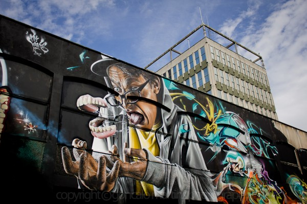 see no evil graffiti street art project bristol 16 600x400 See No Evil: Europes largest street art event