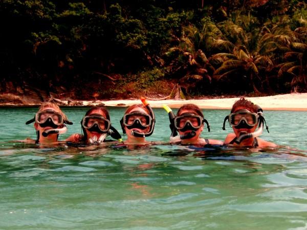 snorkelling in tela 600x449 Seaside perfection in Tela, Honduras