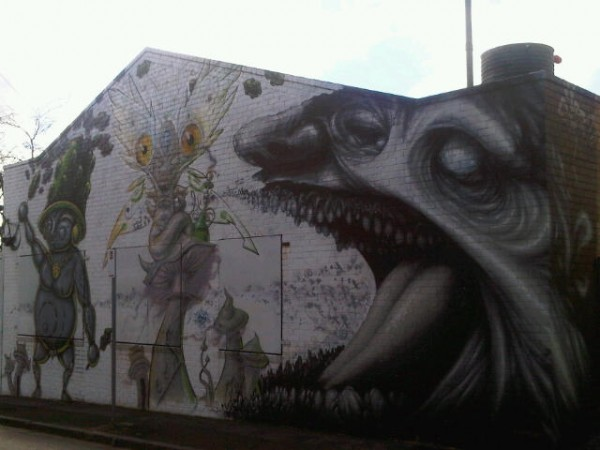south melbourne graffiti1 600x450 Top 12 Free Things to do in Melbourne