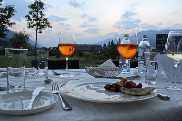 trav1 dinner austrian cusinery Falkensteiner Hotels in Carinthia   an oasis for wellness and well being