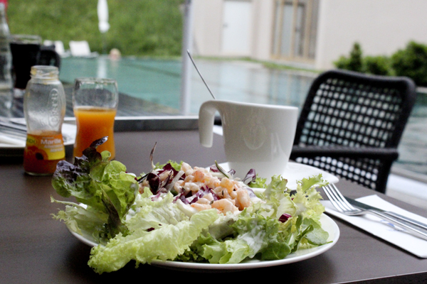trav food pool Falkensteiner Hotels in Carinthia   an oasis for wellness and well being