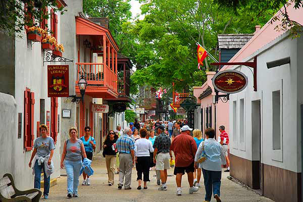 St. George Street, St. Augustine