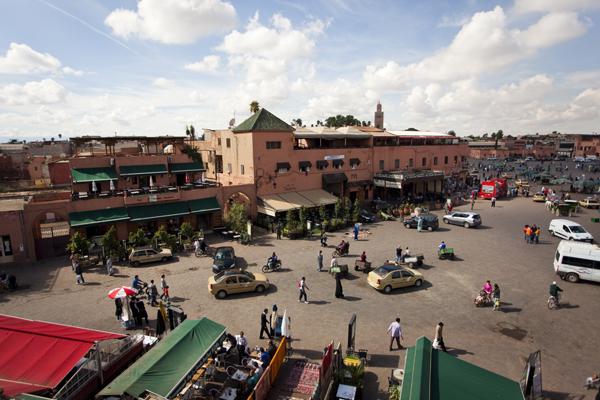 djemaa el fna Marrakech   Entering the Fairytale