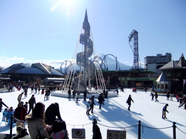 fuji1 Get your skates on at the worlds coolest ice rinks