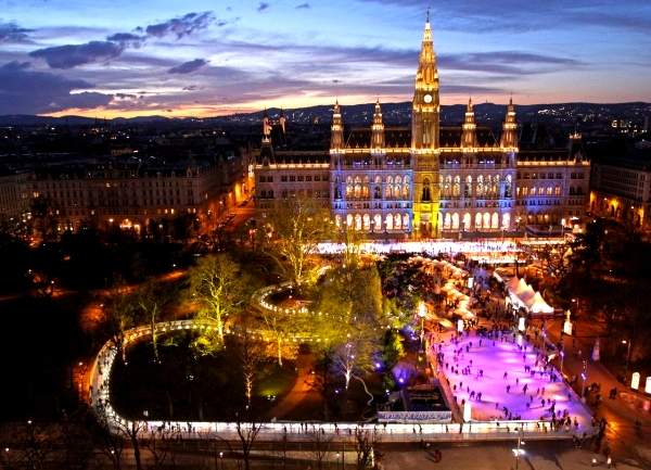 vienna Get your skates on at the worlds coolest ice rinks