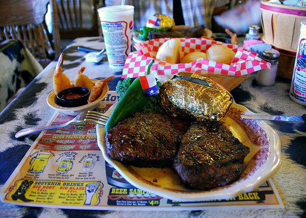 Big Texan steaks