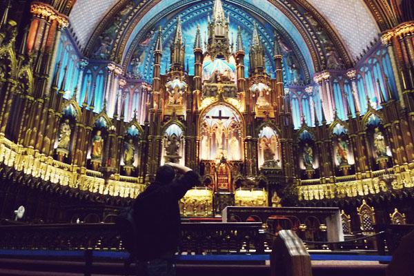 Inside Notre Dame Montreal 10 reasons to go to Montreal