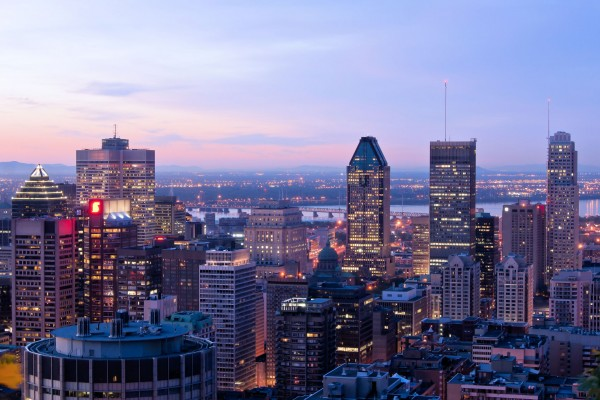Montreal-skyline-Canada